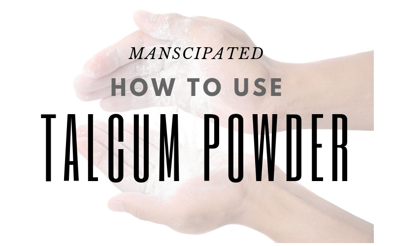 how to use talcum powder for men main